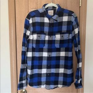 AMERICAN EAGLE Heritage Flannel L/S Shirt Size L